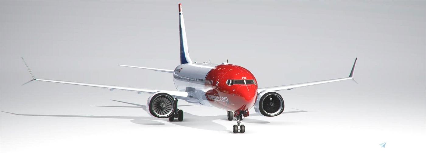 Vanilla Thumbnails for BREDOK3D Boeing 737 Max