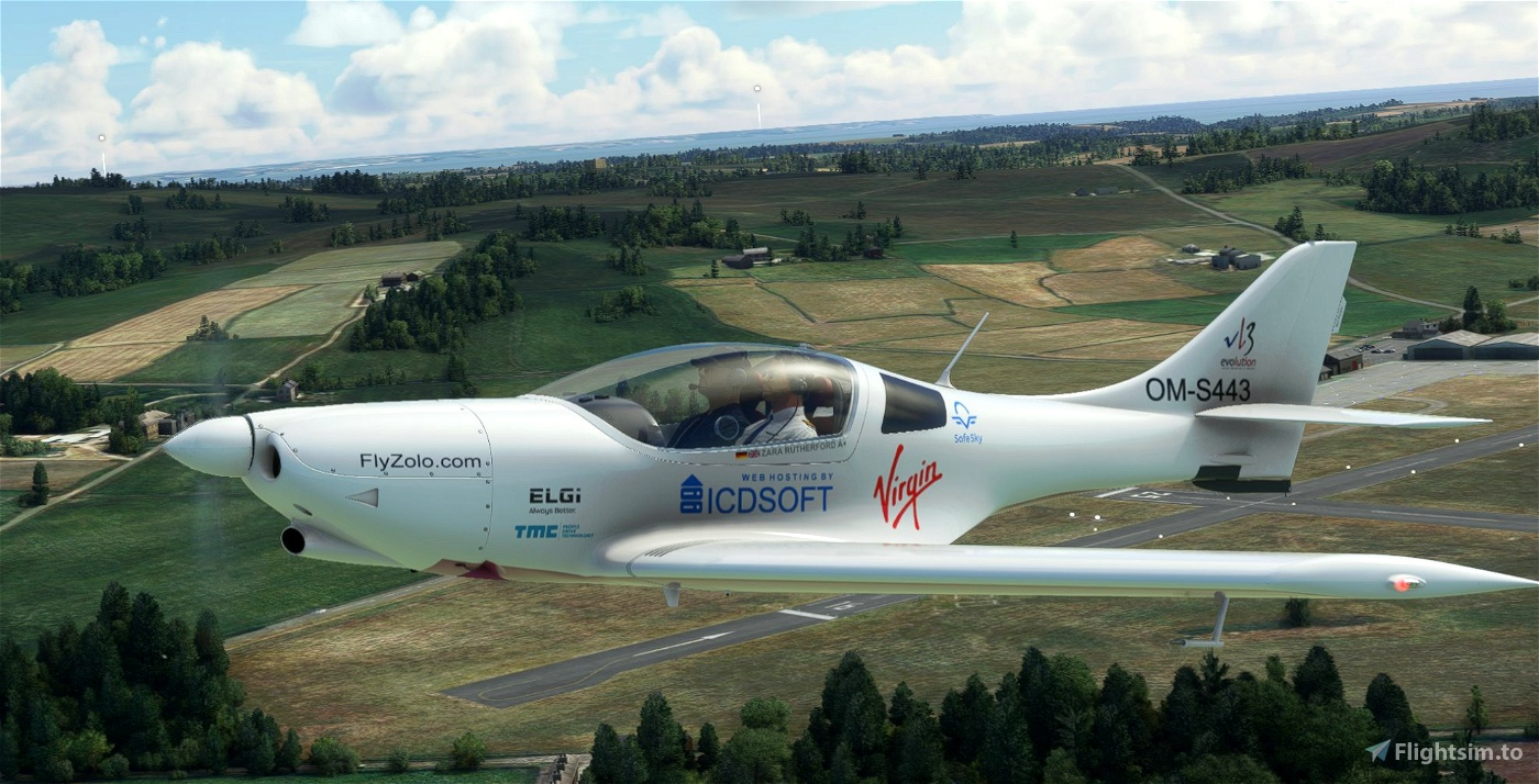 VL3 Zara Rutherford Microsoft Flight Simulator