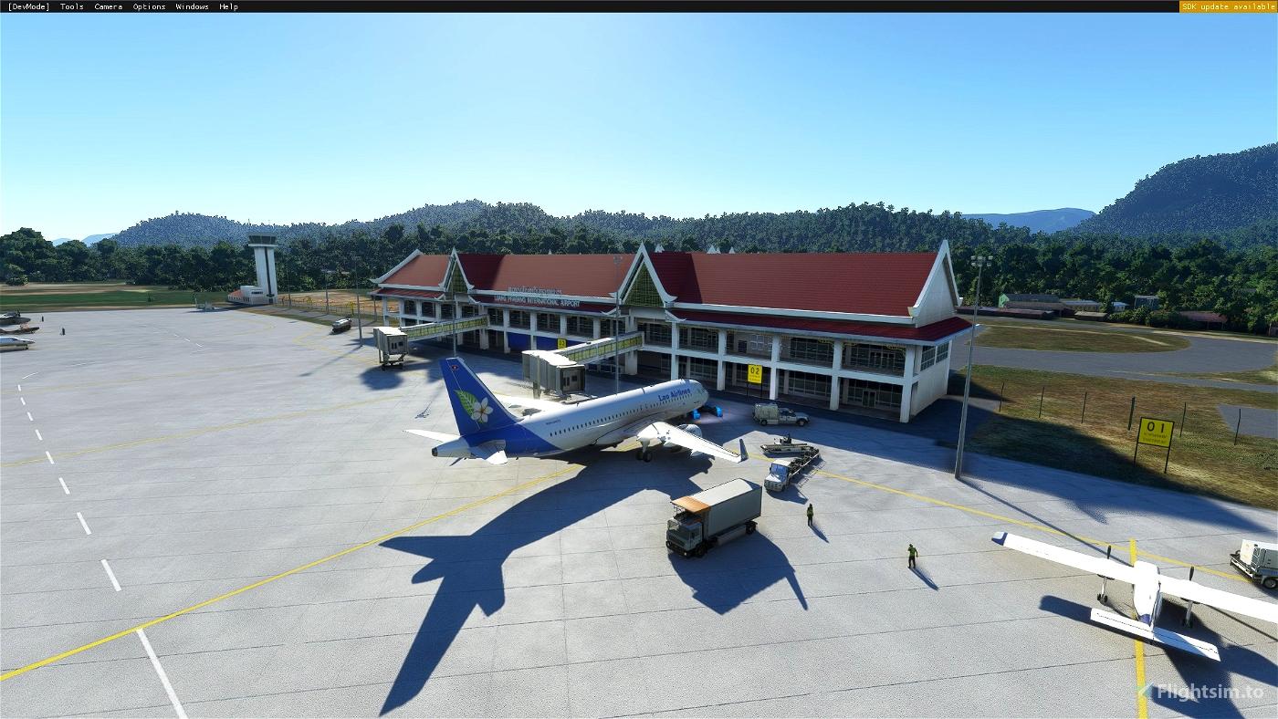 VLLB, Luang Prabanng international Airport