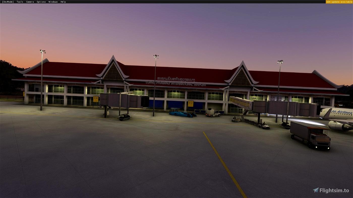 VLLB, Luang Prabanng international Airport  Microsoft Flight Simulator