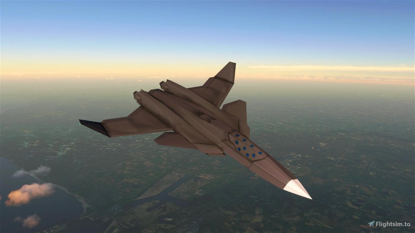 XFA-36A [BETA] Microsoft Flight Simulator