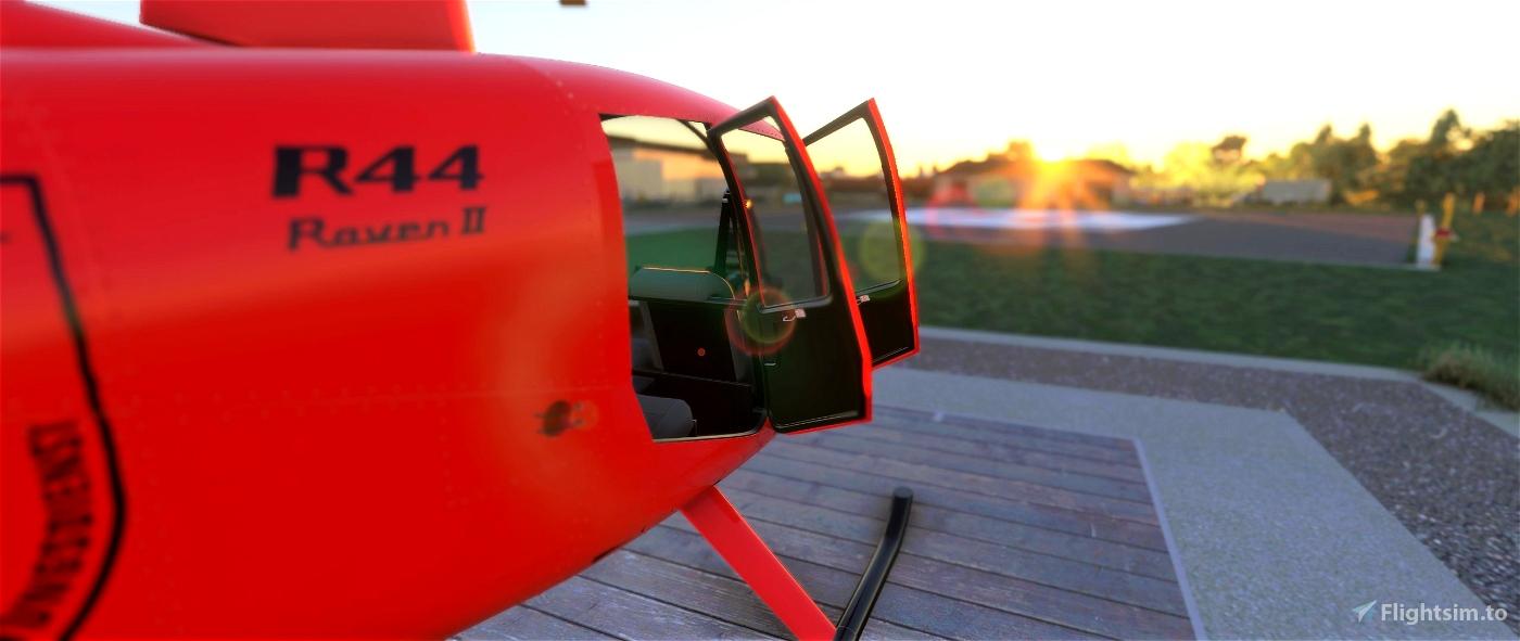 (8K) RSP Robinson R44 D-HALX