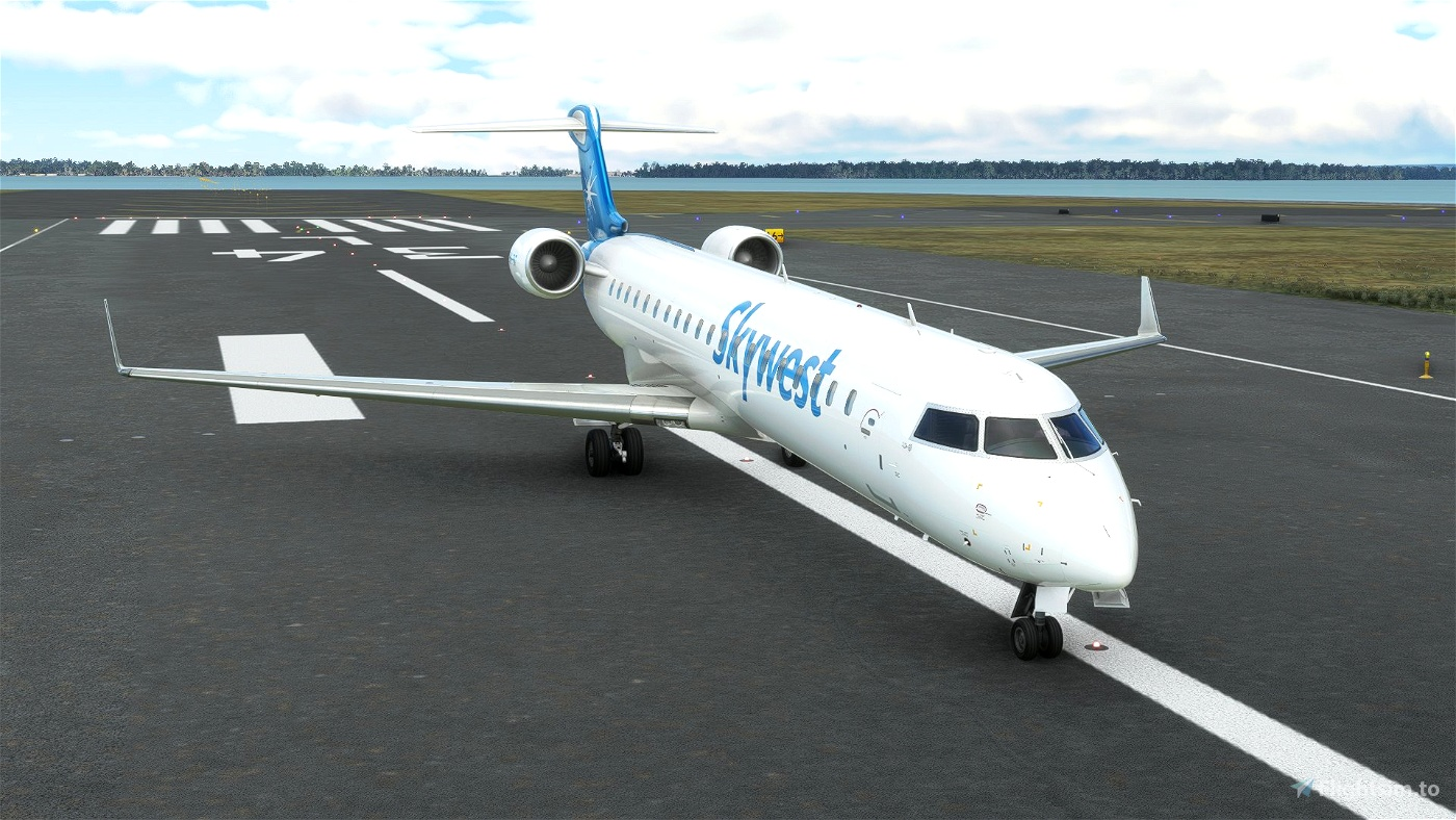 [8K] Skywest VH-FNT