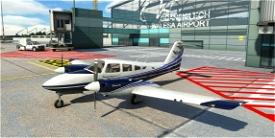 A New Livery for Piper PA44 Seminole (Carenado) - PolandAirWays Microsoft Flight Simulator