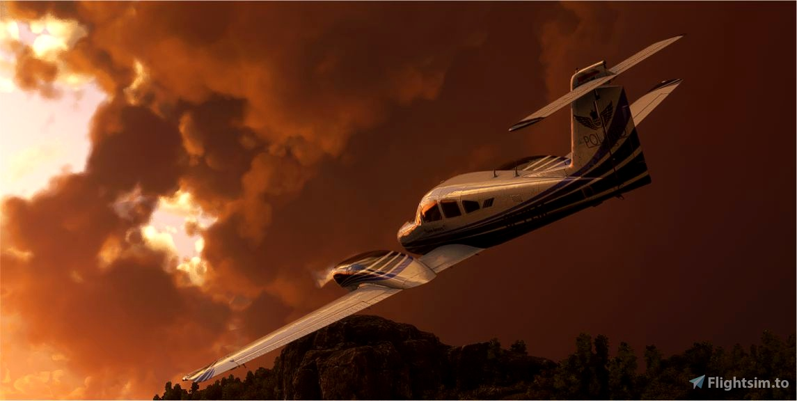 A New Livery for Piper PA44 Seminole (Carenado) - PolandAirWays