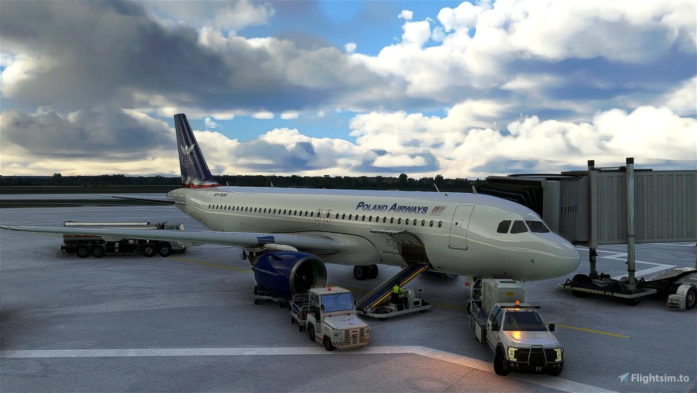 [A32NX] A320 NX FlyByWire - PolandAirWays