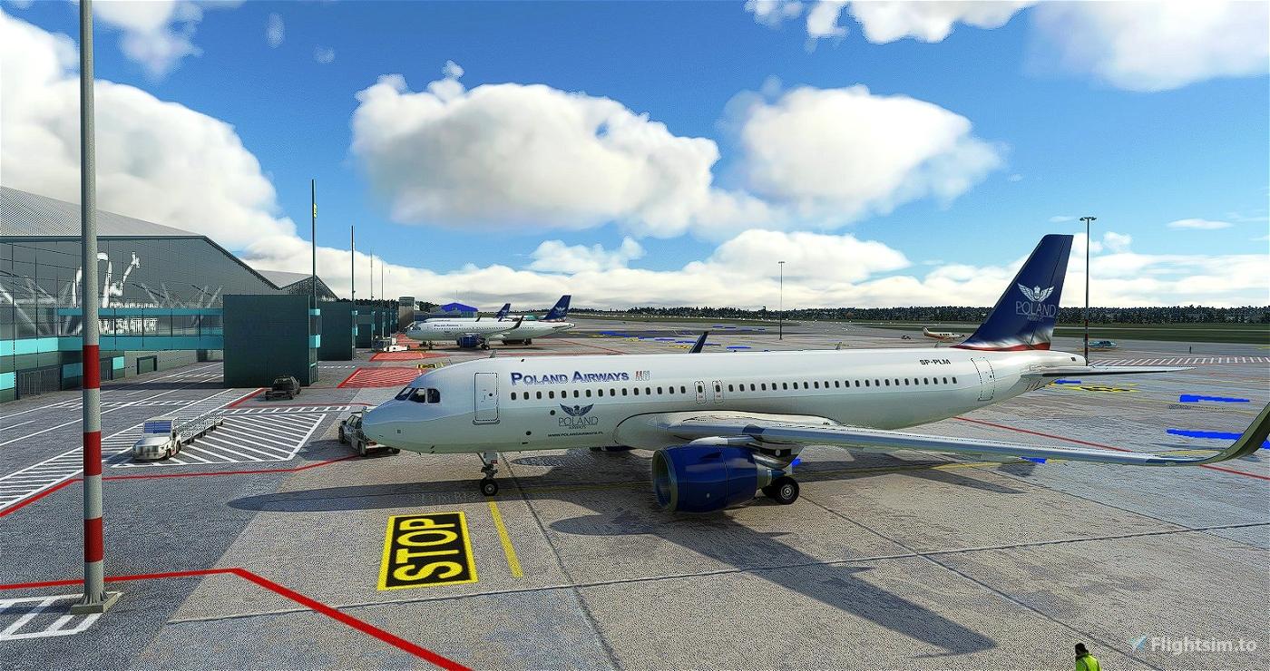 [A32NX] A320 NX FlyByWire - PolandAirWays Microsoft Flight Simulator