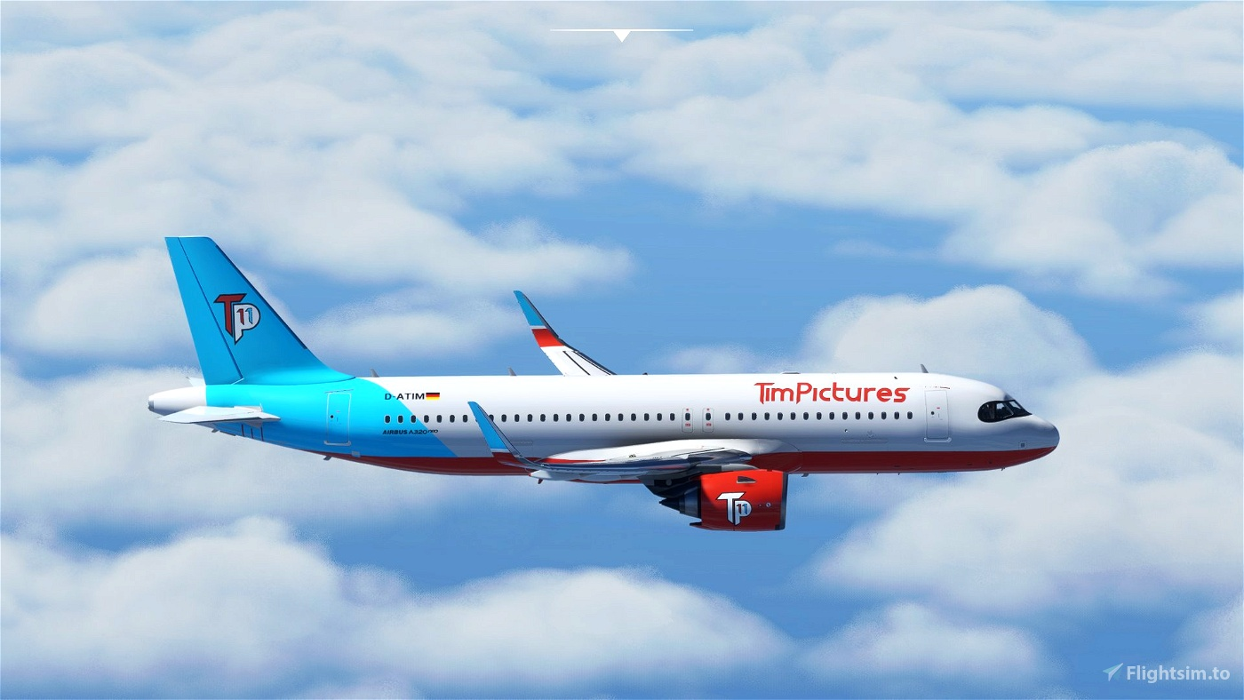 A320Neo[FBW A32NX] TimPictures Airways - 11 Jahre Microsoft Flight Simulator