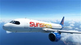 [A32NX] Airwego Sunspots [Fictional] Microsoft Flight Simulator