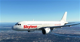 [A32NX] - Skytour [8K Fictional] Microsoft Flight Simulator
