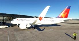 [A32NX] Smartlynx Airlines Estonia ES-SAM Microsoft Flight Simulator