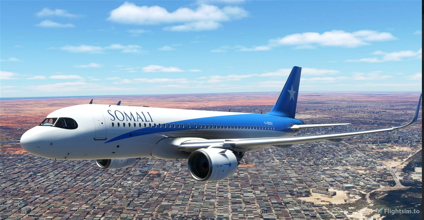 [A32NX] - Somali Airlines [8K Fictional]