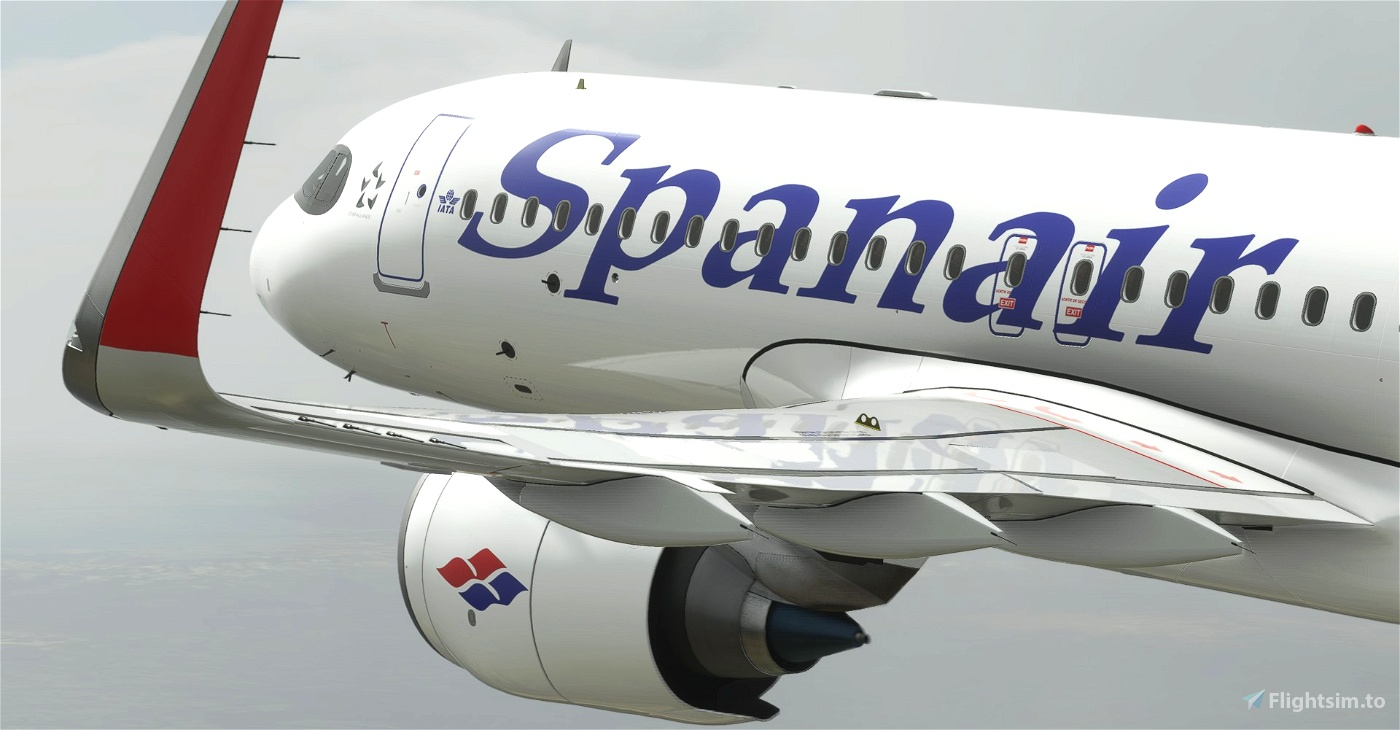 "[A32NX] Spanair ""1992 livery"" ""EC-IMB"" & ""EC-IVG"""