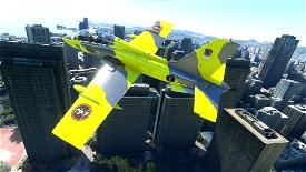 Aermacchi MB-339PAN SimGameIt Bare Metal Camo Microsoft Flight Simulator