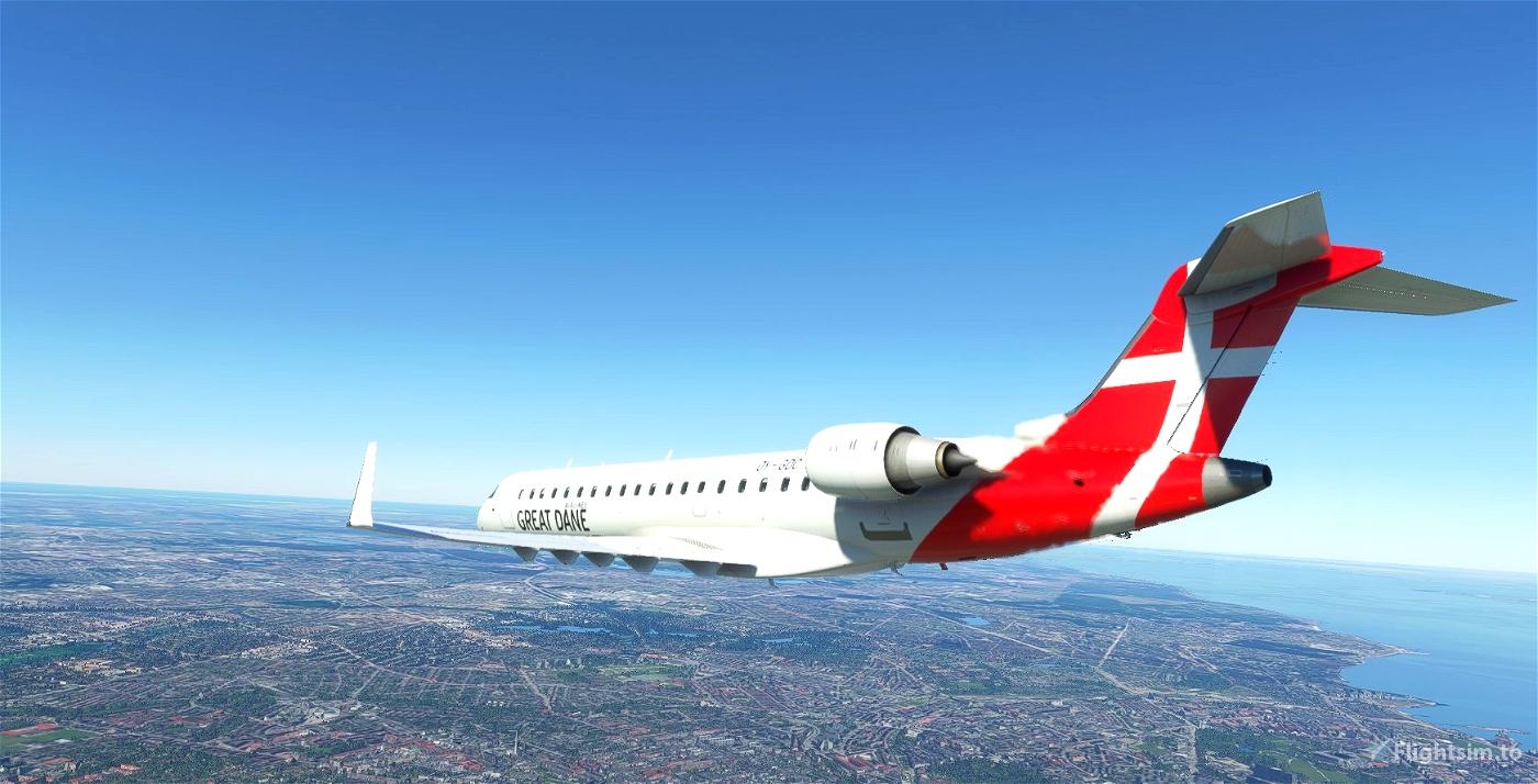 Aerosoft CRJ700 - Great Dane Airlines [Fictional]