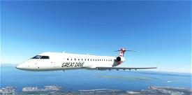 Aerosoft CRJ700 - Great Dane Airlines [Fictional] Microsoft Flight Simulator