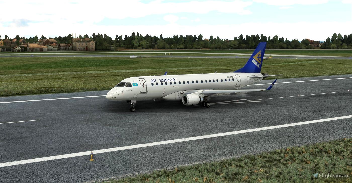 Air Astana Embraer 175 (Virtuacol)