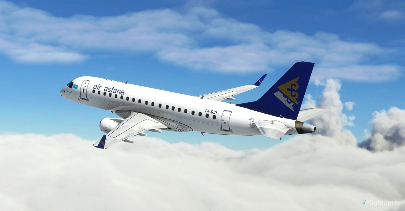 Air Astana Embraer 175 (Virtuacol) Microsoft Flight Simulator