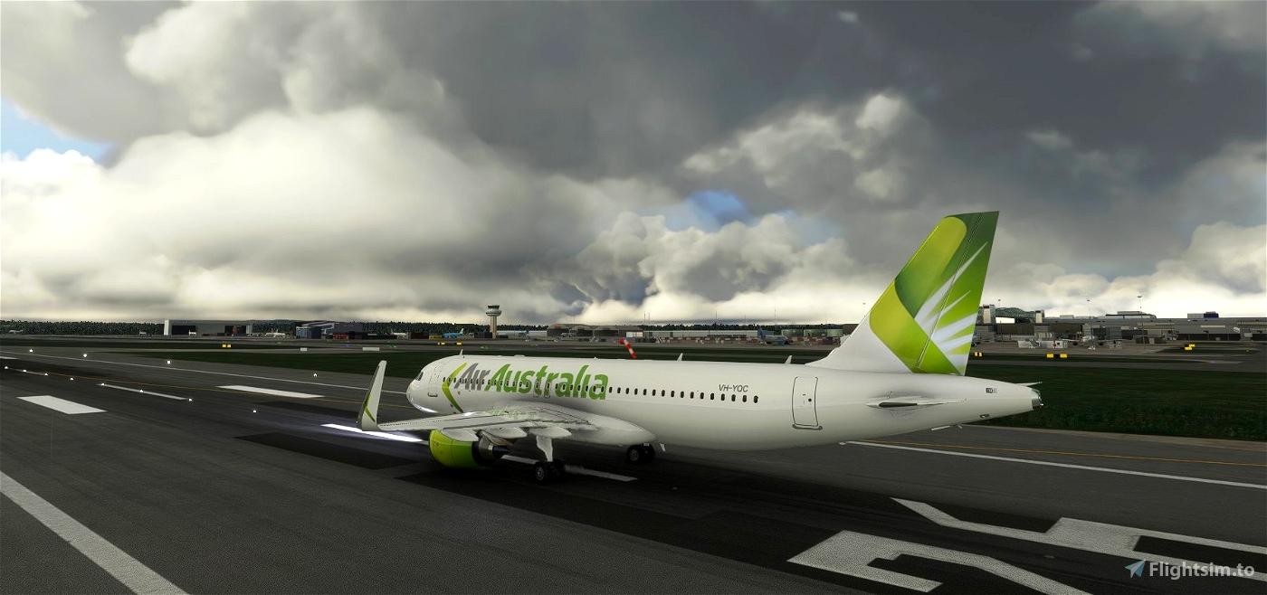 Air Australia livery for A320neo