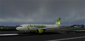 Air Australia livery for A320neo Microsoft Flight Simulator