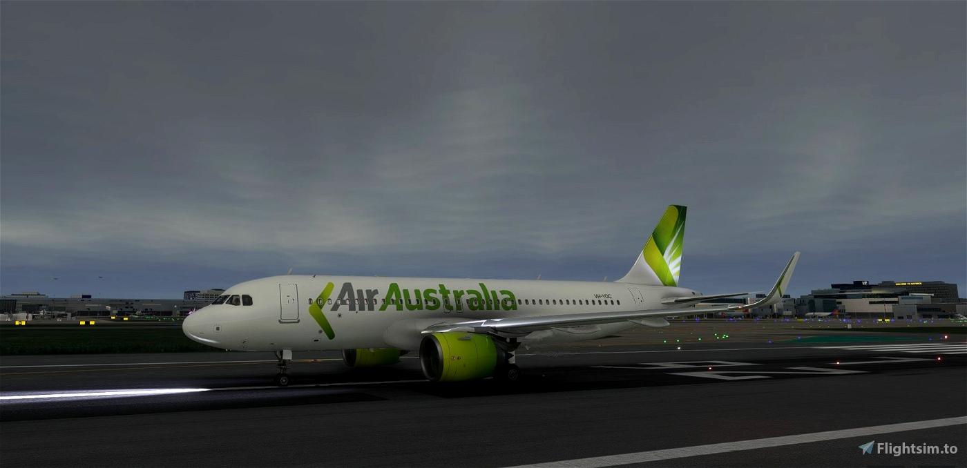 Air Australia livery for FBW A32NX Microsoft Flight Simulator
