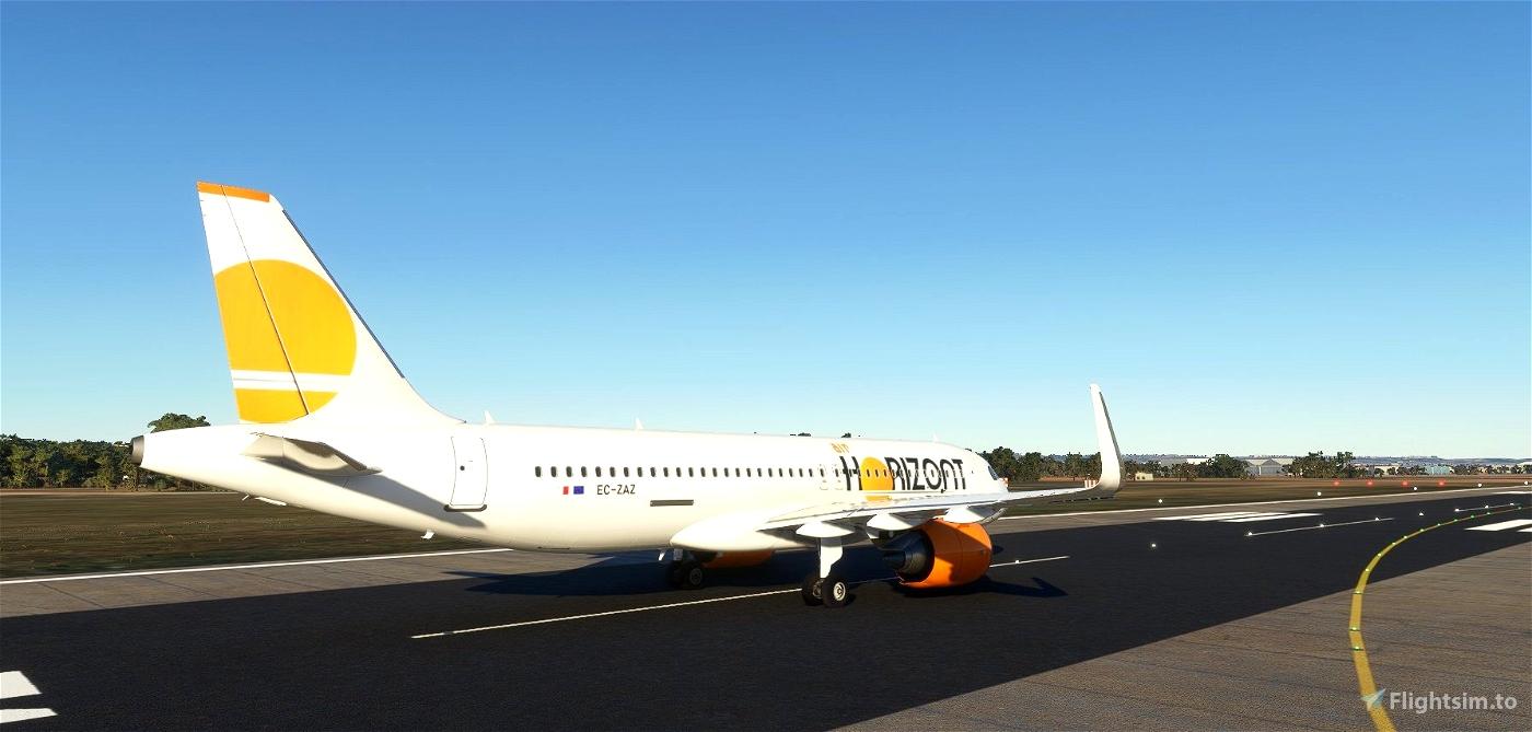 Air Horizont livery for FBW A32NX.