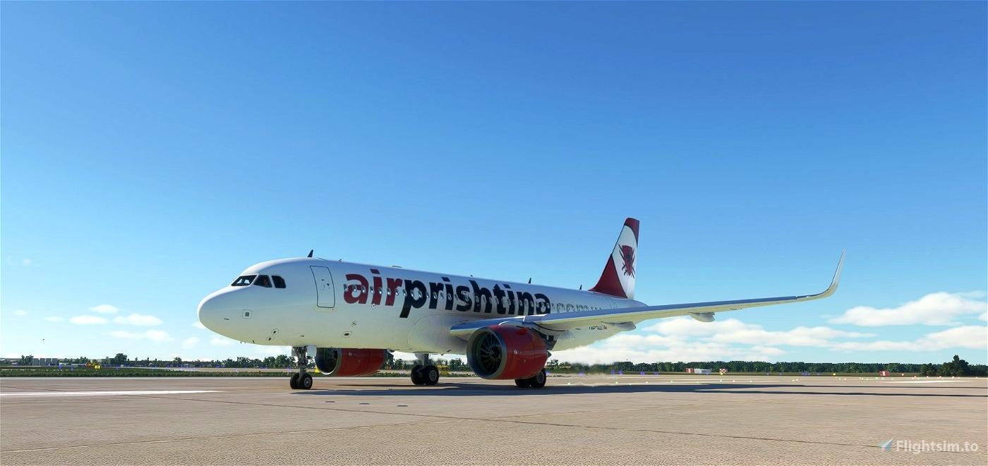 Air Prishtina livery for A320neo