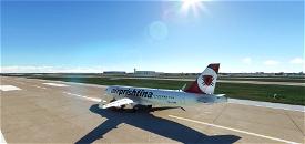 Air Prishtina livery for A320neo Microsoft Flight Simulator