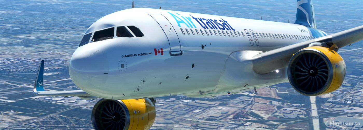 [A32NX] AIR TRANSAT C-GCKU 8K Microsoft Flight Simulator