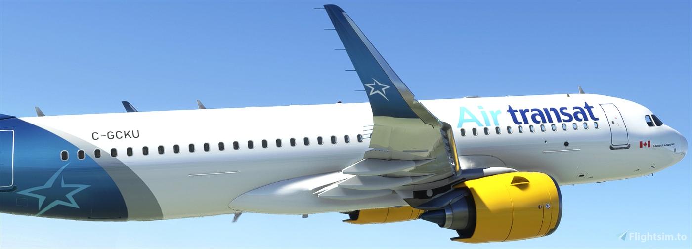 [A32NX] AIR TRANSAT C-GCKU 8K