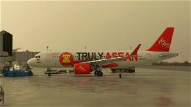 [A32NX] AirAsia 9M-AFA Microsoft Flight Simulator