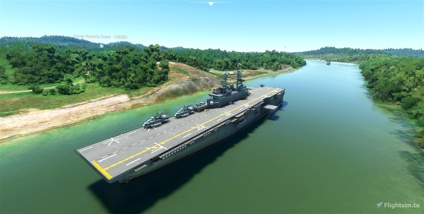Aircraft Carrier Group - Volume 2 Microsoft Flight Simulator