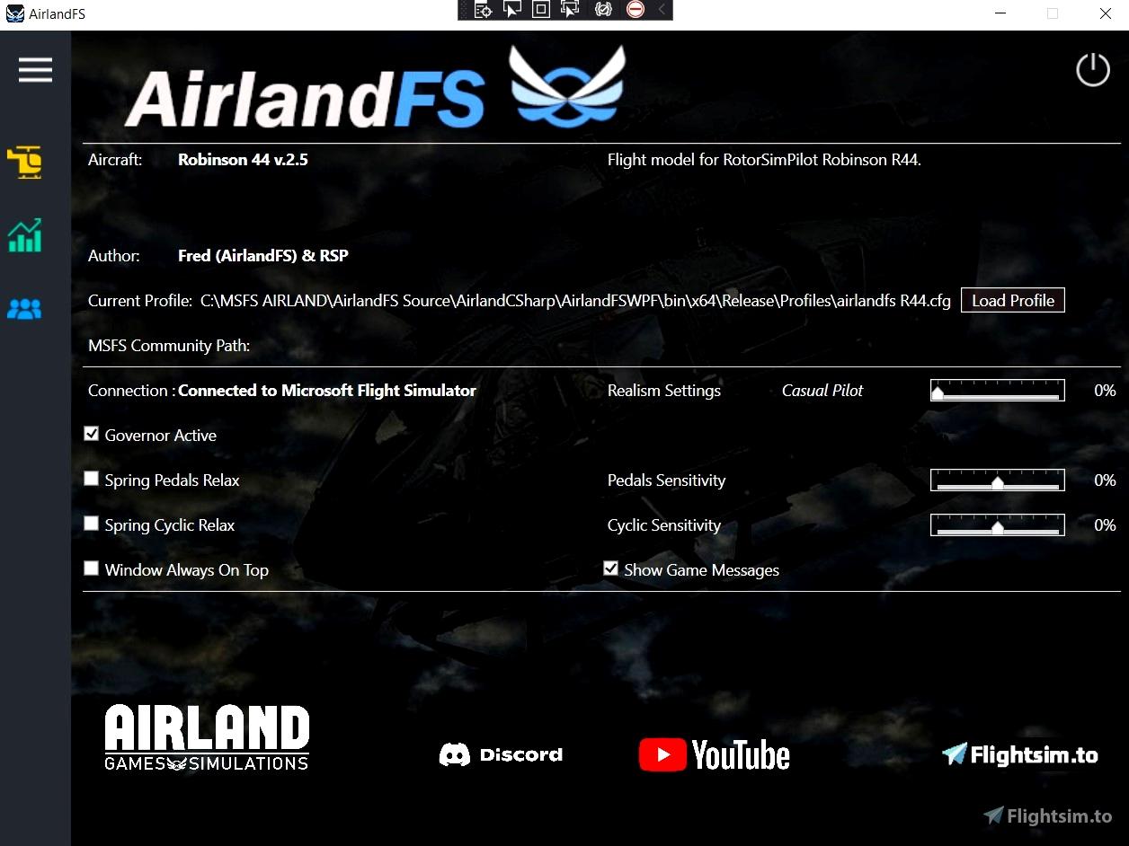 AirlandFS Microsoft Flight Simulator