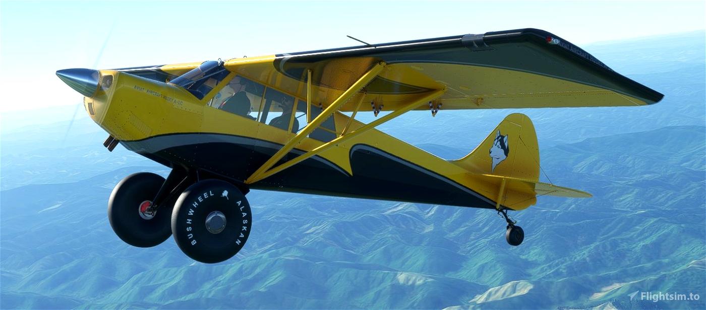 AIRPAC1 HUSKY A1C VECTOR  Microsoft Flight Simulator
