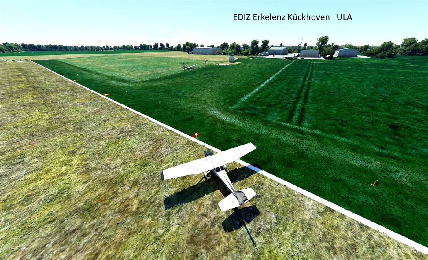 Airport EDJB and EDIZ