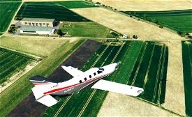 Airport EDJB and EDIZ Microsoft Flight Simulator