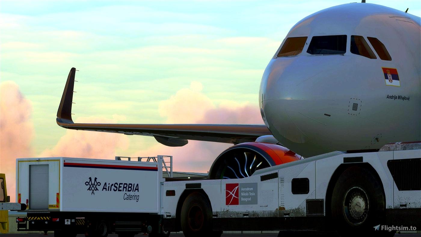 AIRSERBIA - AREX Ground Services Mod   by FlightFlow