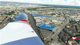 Antwerp Sport Palace Microsoft Flight Simulator