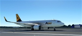 ASKY Airlines livery for FBW A32NX Microsoft Flight Simulator