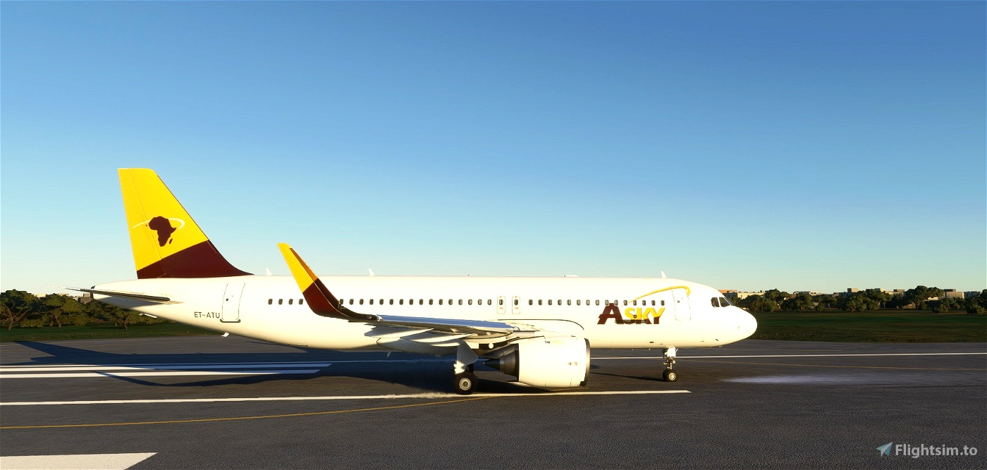 ASKY Airlines livery for FBW A32NX