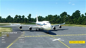 Asobo 747-8i Thai Airways Retro [No mirroring] Microsoft Flight Simulator