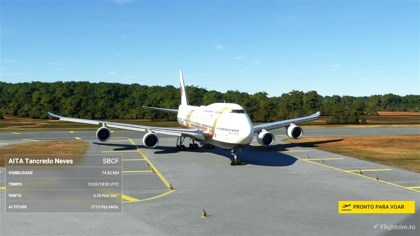 Asobo 747-8i Thai Royal Barge [No mirroring] Microsoft Flight Simulator
