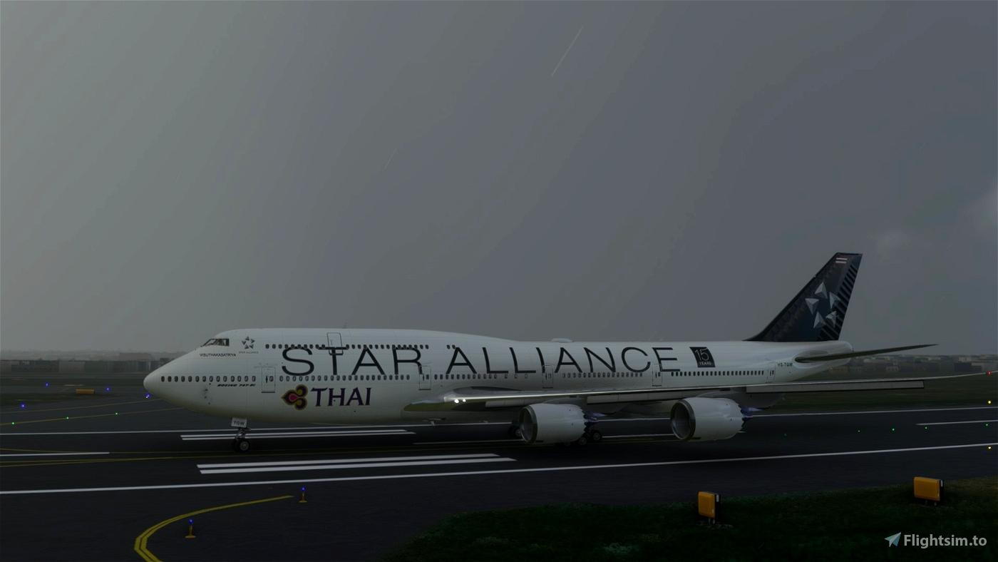 Asobo 747-8i Thai Star Alliance [No mirroring]