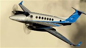Asobo_King Air_N-345PR Microsoft Flight Simulator