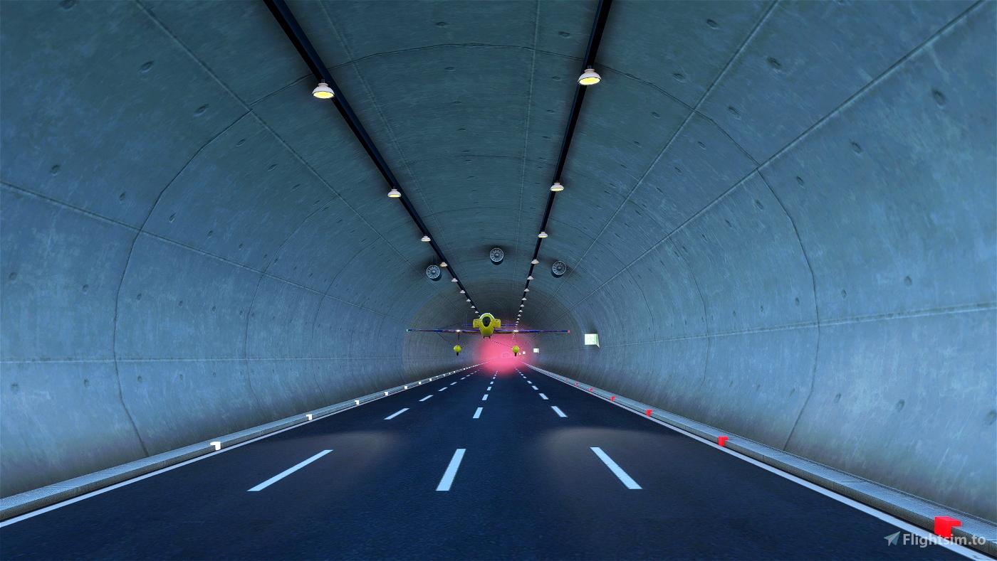 Çatalca Tunnels Challenge, Turkey Dario Costa Red Bull World Record Flight