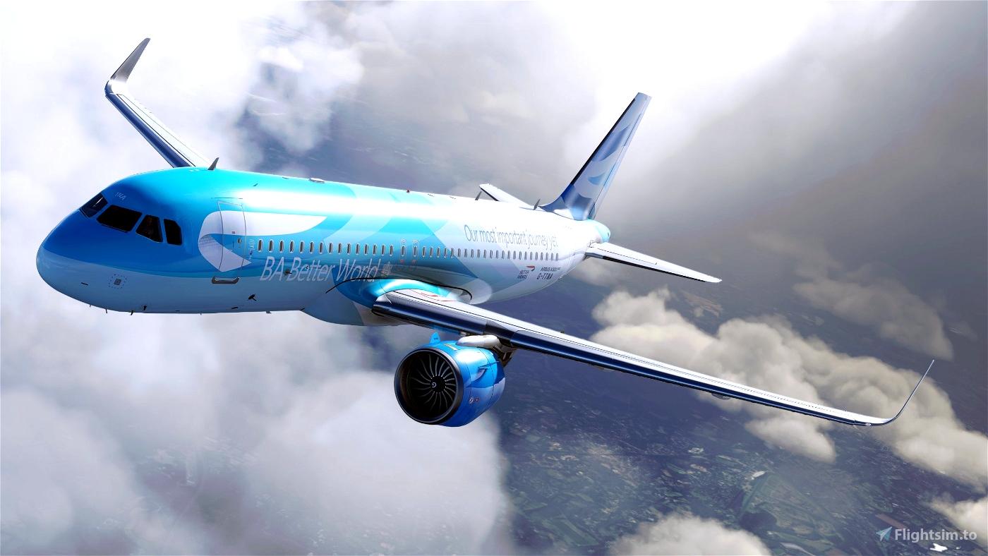 BA Better World for FBW A32NX