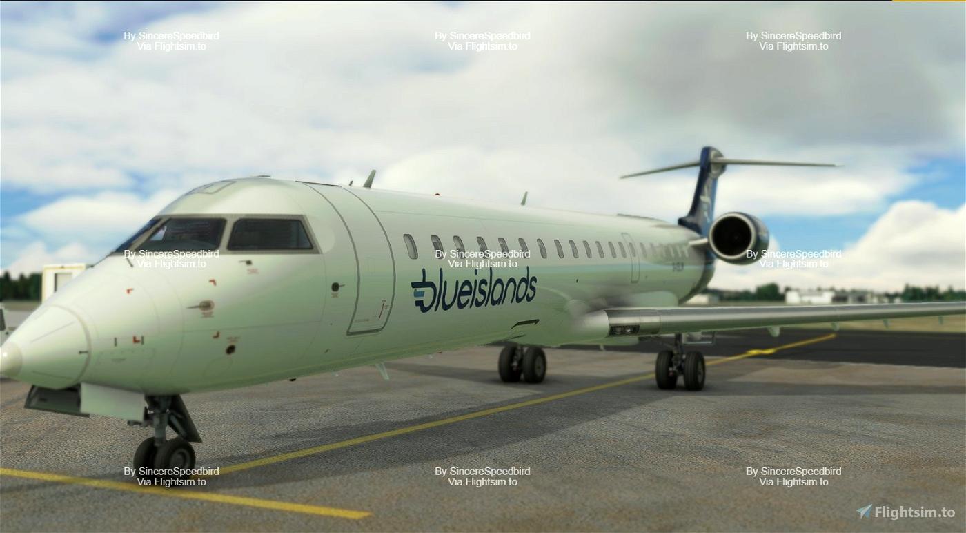 Blue Islands | Aerosoft CRJ 700 [Fictional]