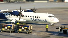 Blue Islands   ATR 72-600 Microsoft Flight Simulator