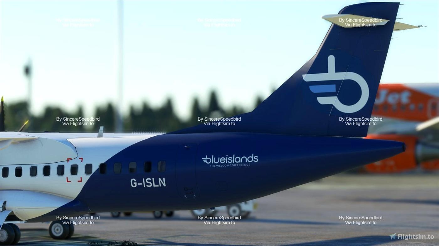 Blue Islands   ATR 72-600