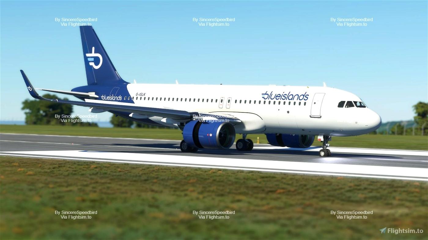 Blue Islands | FBW A32NX [Fictional] Microsoft Flight Simulator